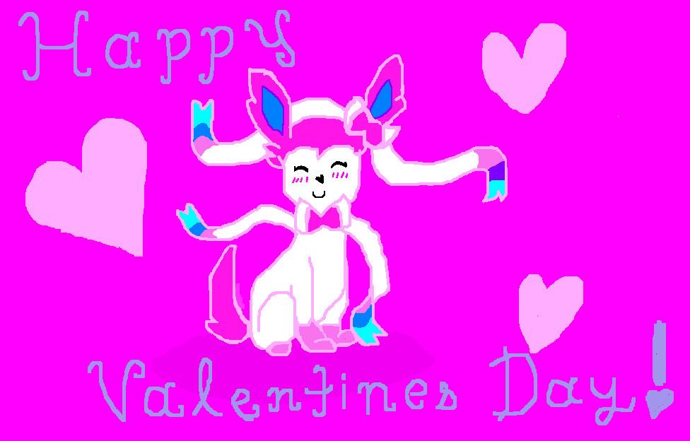 Sylveon Valentine's Day! by Gigiluv11