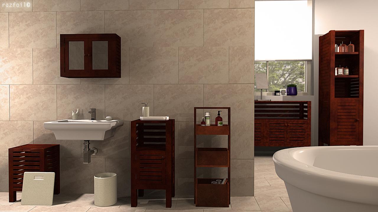 John lewis furniture jakarta 3d model final by razfoil for John lewis bathroom wallpaper