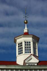 Cupola at Mount Vernon by churra