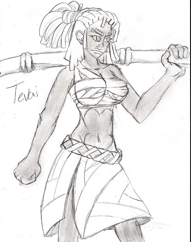 Tevai- One Piece Original by smartz118