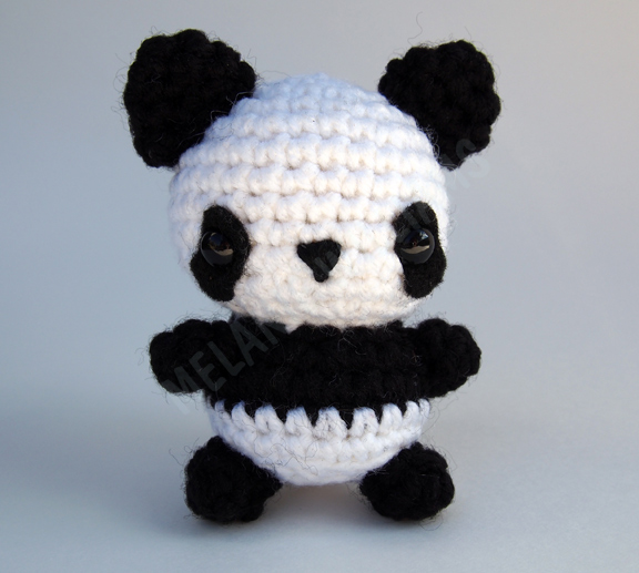 Amigurumi Bigfoot Panda : Panda Amigurumi by ariaoftherain on DeviantArt