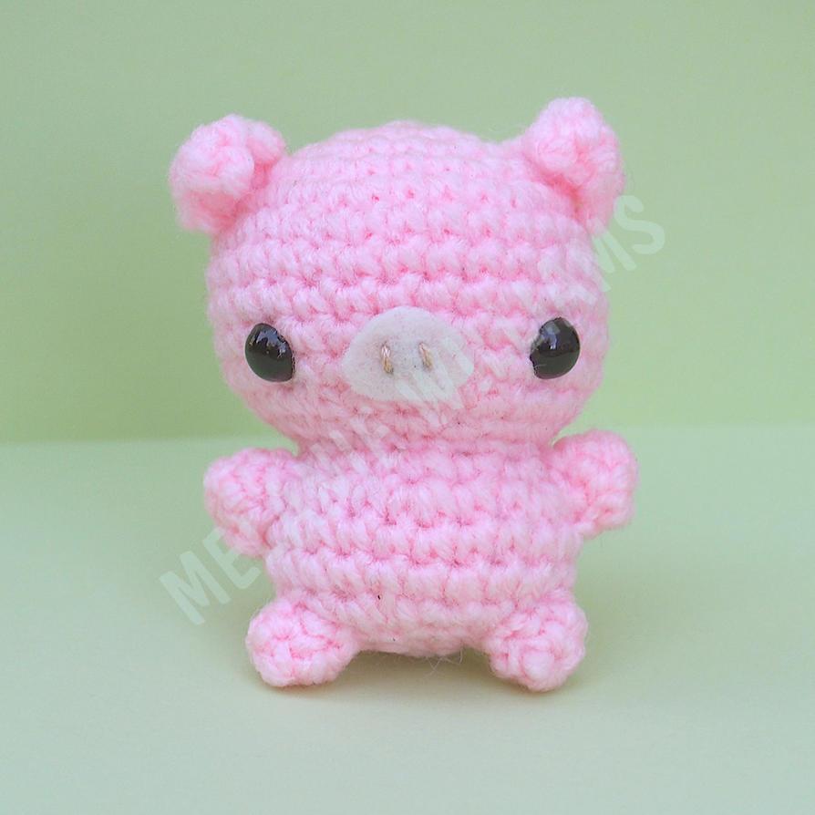 Free Princess Amigurumi Crochet Pattern : Pig Amigurumi by ariaoftherain on DeviantArt