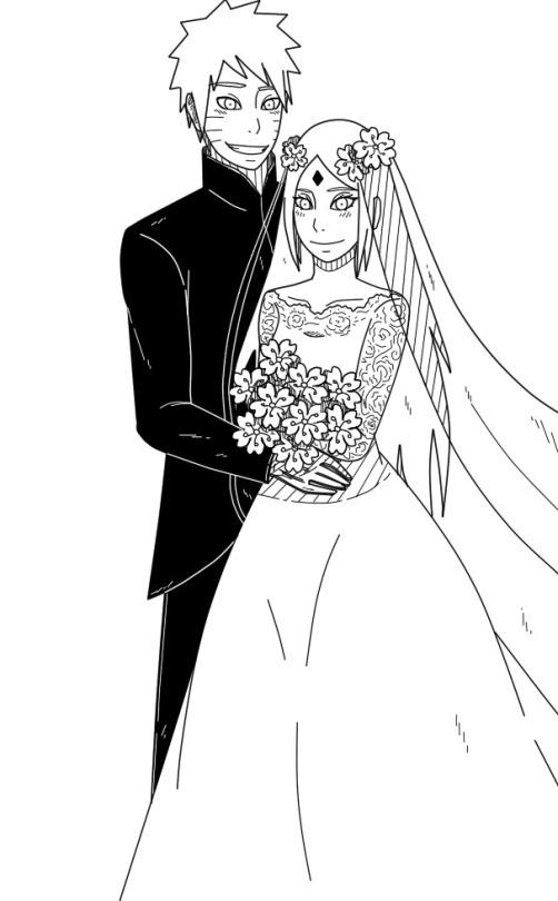 Wedding Naruto and Sakura. by Bobkillerns on DeviantArt