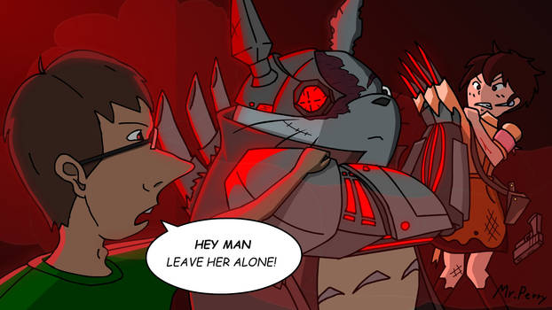 Cyberpunk Totoro