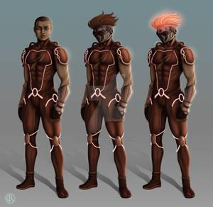 Character design of Ray Jackson