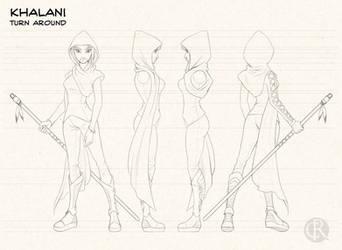 Khalani studies by CristianoReina