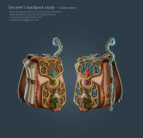 Sorcere's backpack by CristianoReina