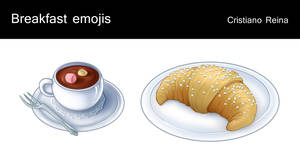 Breakfast icons by CristianoReina