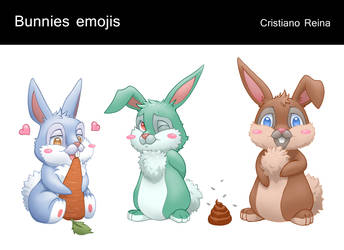 Bunnies cute by CristianoReina