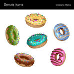 Donuts icons