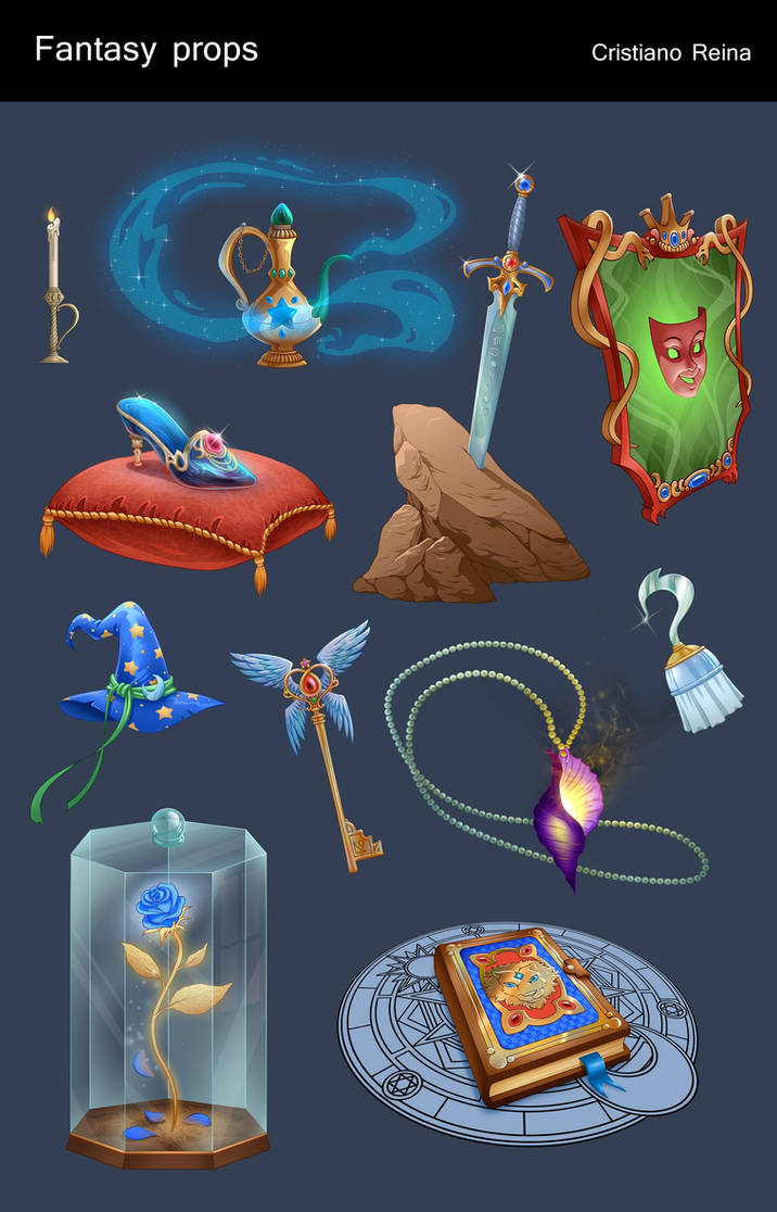 Fairytale icons by CristianoReina