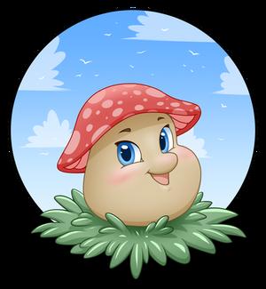 Cute mushroom 1 by CristianoReina