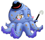 Cute octopus by CristianoReina