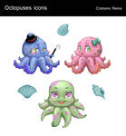Octopus icons by CristianoReina