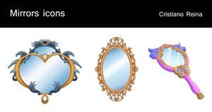 Mirrors icons