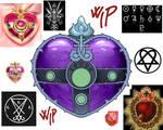Evil Heart moon compact - wip
