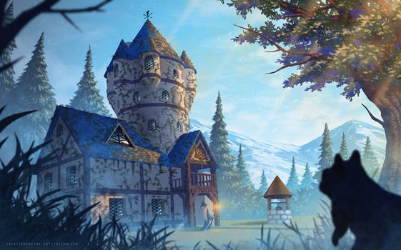 Merlin's house by CristianoReina