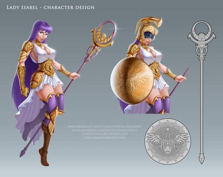 Lady Isabel - Makeover character design