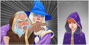 Ancient Magic meme- commission