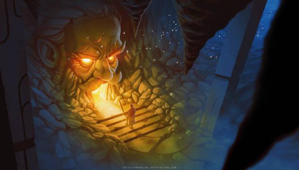 Dwarf's cave - commission