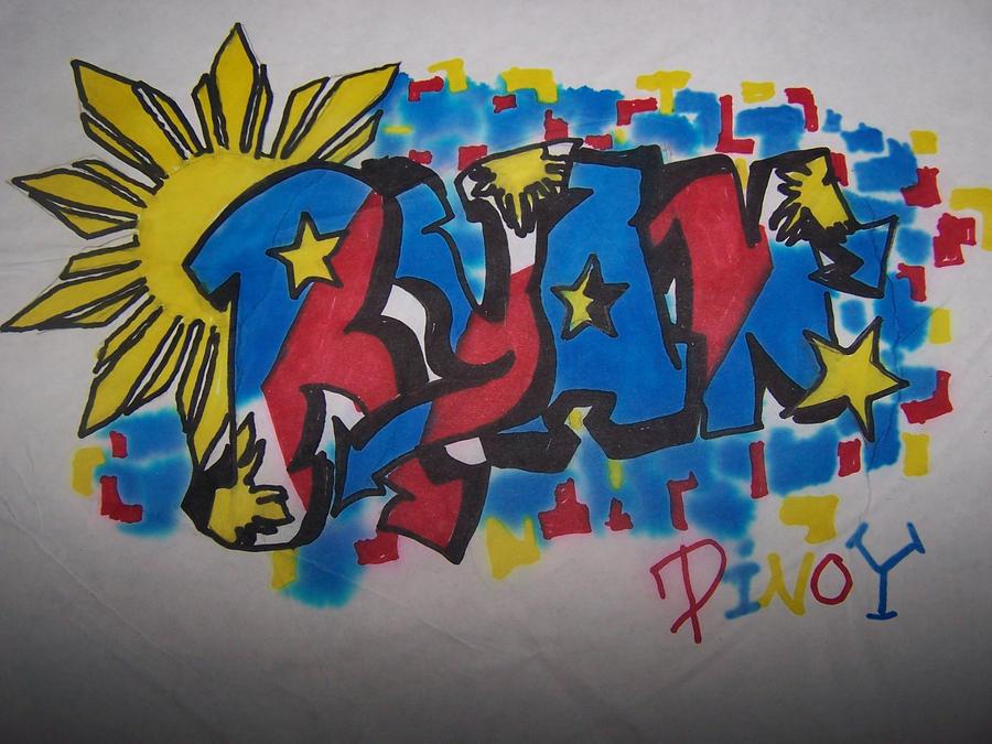 Ryan name tagged pinoy pride by doreigon on deviantart - Ryan name wallpaper ...