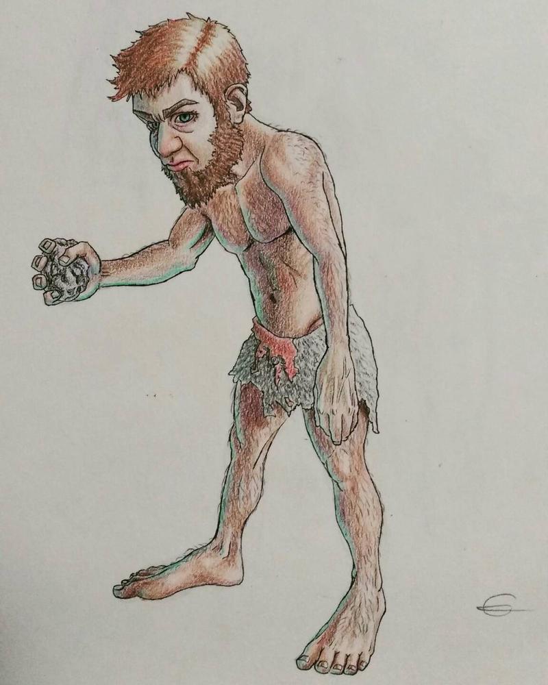 Wild Gnome by BogSpirit