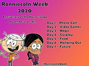 Ronniecoln Week 2020 Announcement!