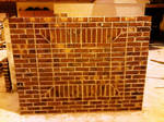 Patterened Brick Wall by Horsefly1