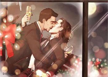 HO-HO-HOMO  christmas! by DeerAzeen