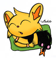 Sleep Well Shinx by KeThuzE