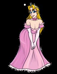 Princess Love Interest cute lewd [oc] by Jonerico