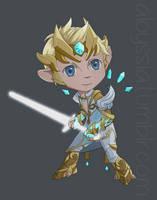 Arkhan Lightblade by Aloyssiah