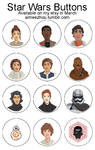 Star Wars Buttons