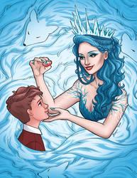Jadis the White Witch by aimeezhou