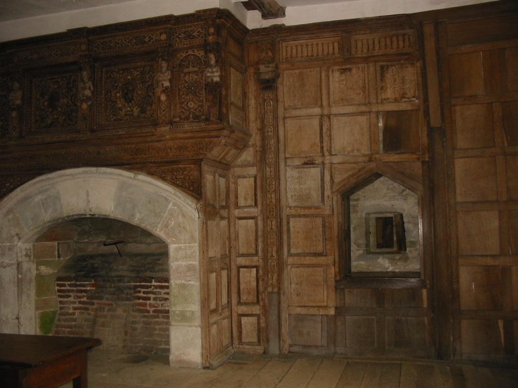 Castle Fireplace Stock By Rayvenstock