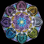 Mandala #5 by JVNT