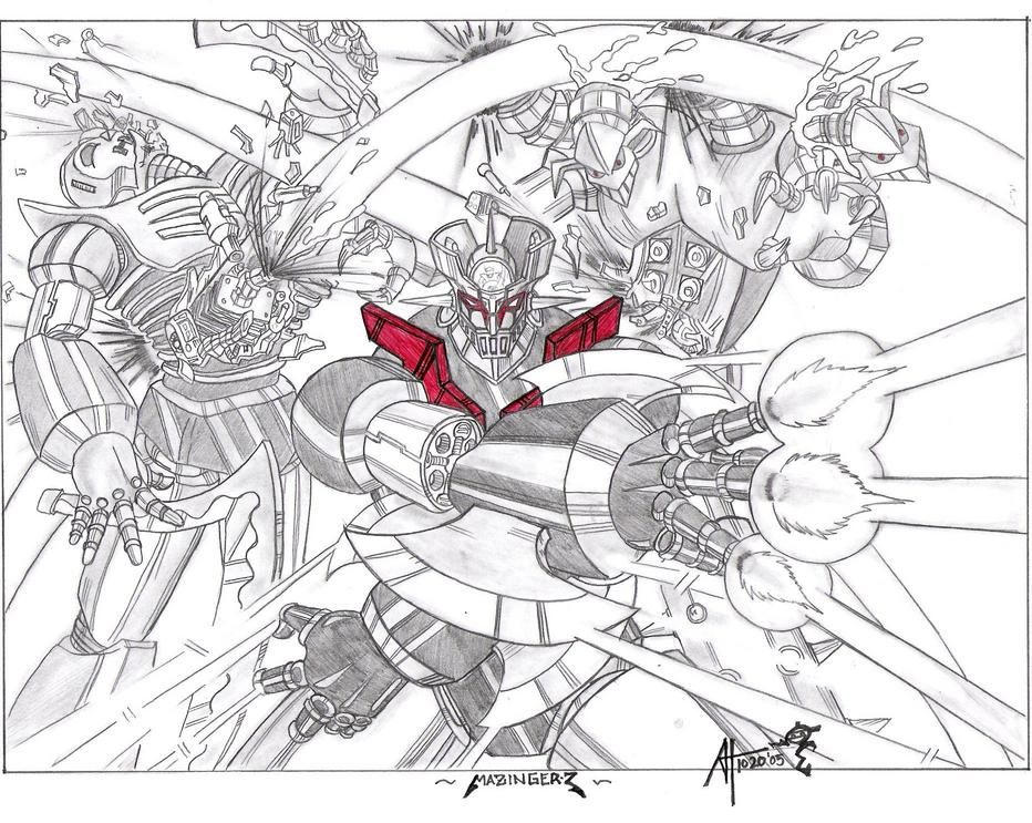 Mazinger Z by Omni Existence by Robot-Japan