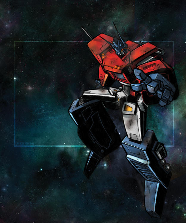 Optimus Prime by dcjosh by Robot-Japan