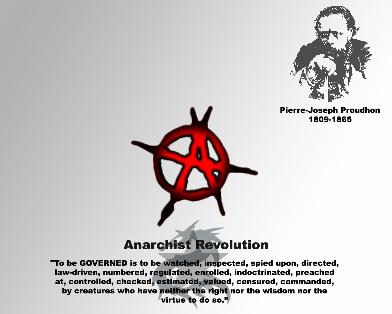 anarchy anarchism and purely anarchist revolution Anarchism in the united states began in the mid 19th  they could identify as advocates of anarchy or revolution  on anarchy, the anarchist.