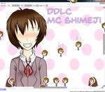 DDLC Shimeji - The MC