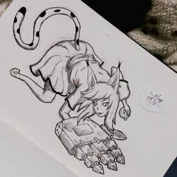 My OC, Camila by HorusOniArts