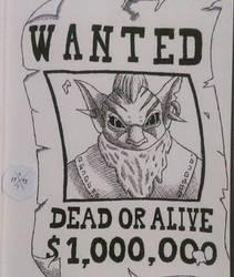 Wanted Gondar by HorusOniArts