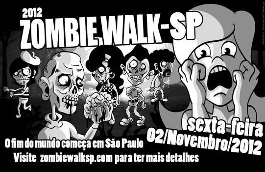 Zombie Walk Sao Paulo Brasil 2012