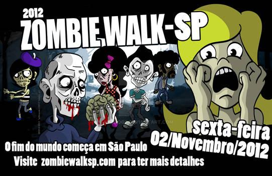 Zombie Walk Sao Paulo 2012 painted