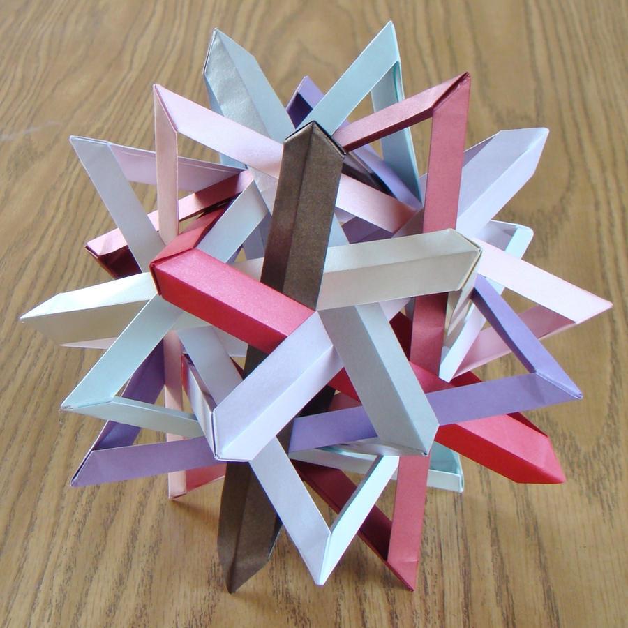 Annapurna / Ten Intersecting Triangles by manilafolder