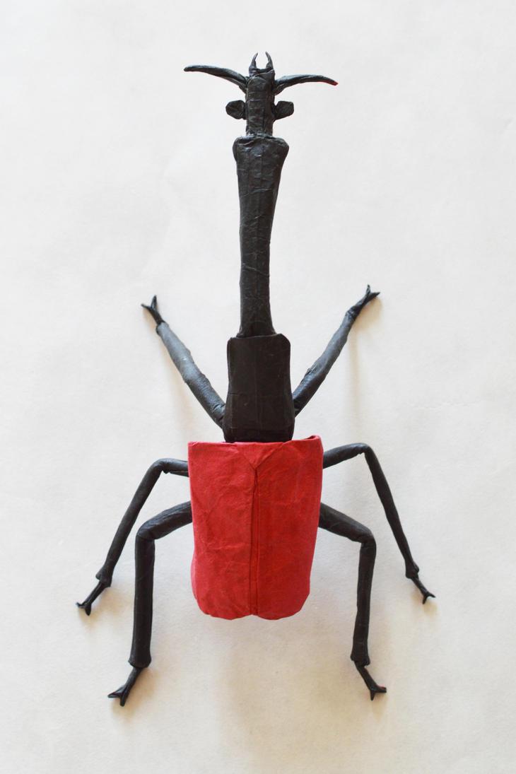 Giraffe Weevil IV by manilafolder