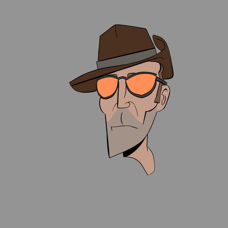 Venture Bros Sniper by BopulosMichael