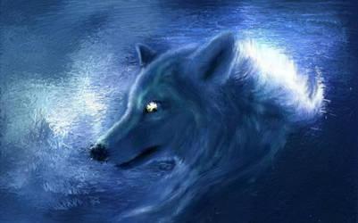 Wolf PsykoPaint