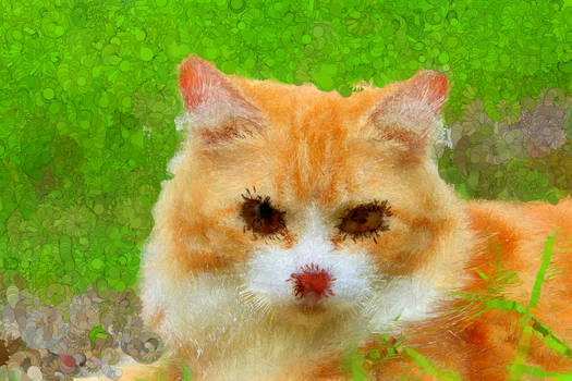 Cat PsykoPaint