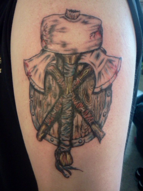 Norse Tattoo Complete by JPaulsonDesign
